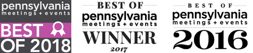2017 Best Pennsylvania Meeting/Event Planning Company and Event Décor Provider